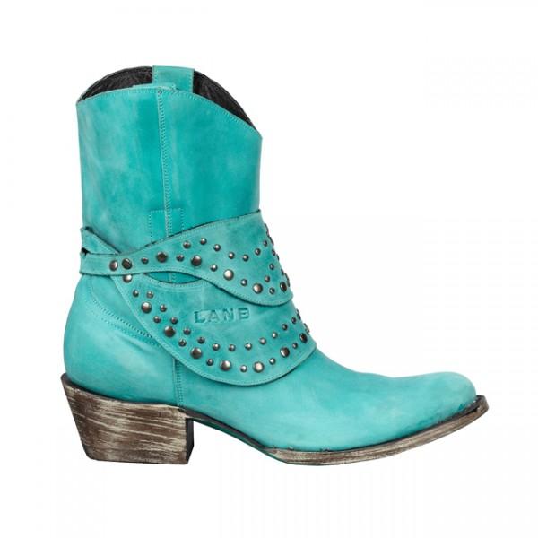 Turquoise Talah boot by Lane