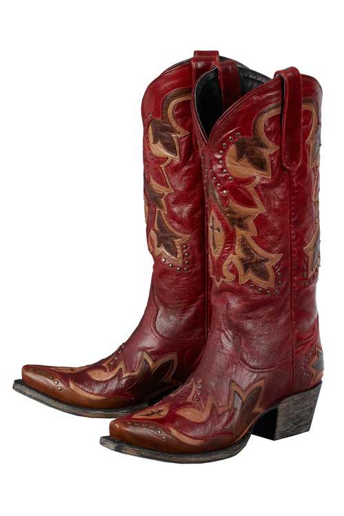 Lane Red Stella Boots