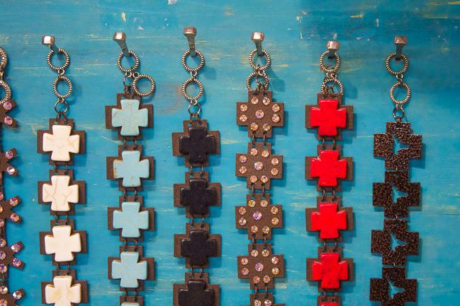 Kender West Cross Bracelets