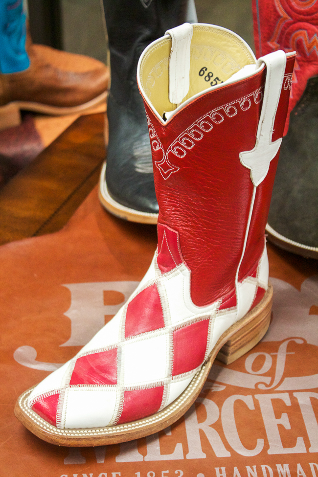 Rios of Mercedes Red & White Boots
