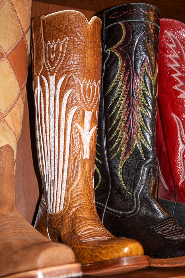 Rios of Mercedes vintage cowboy boots