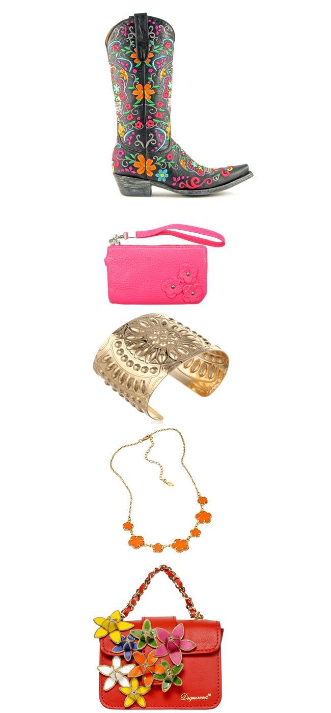 Bold and Bright Spring Accessories