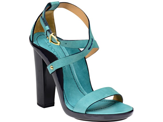 Lucchese Chiara in turquoise