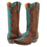 Old Gringo Tatum BrassTurquoise Cowboy Boots