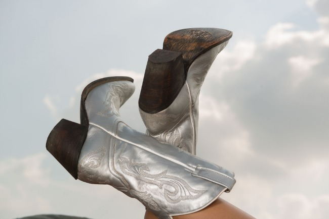 Now Trending, Silver Cowboy Boots