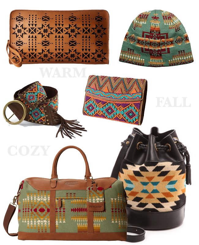 Favorite Fall pieces from Pendleton