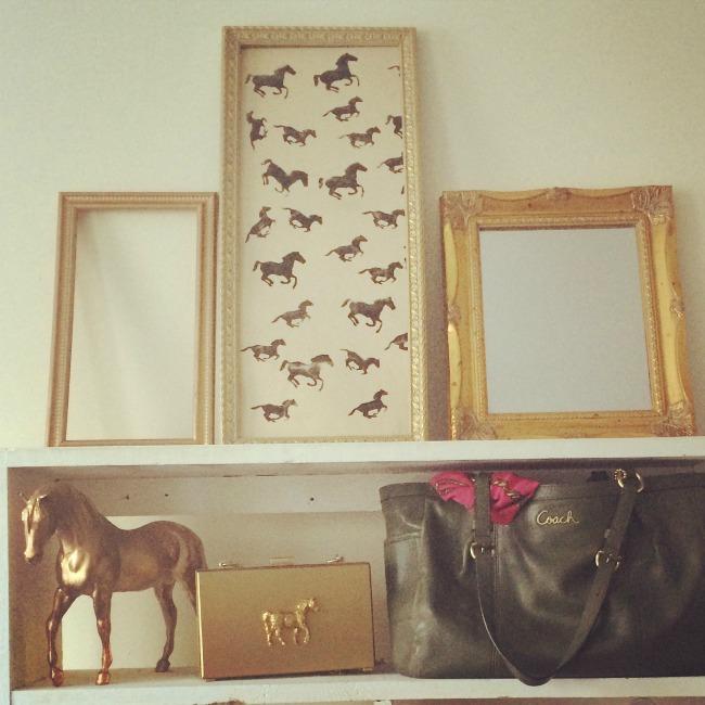 Equestrian Styled Shelf