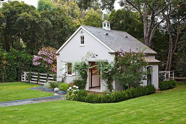 Gwyneth Paltrow's Stable in Brentwood