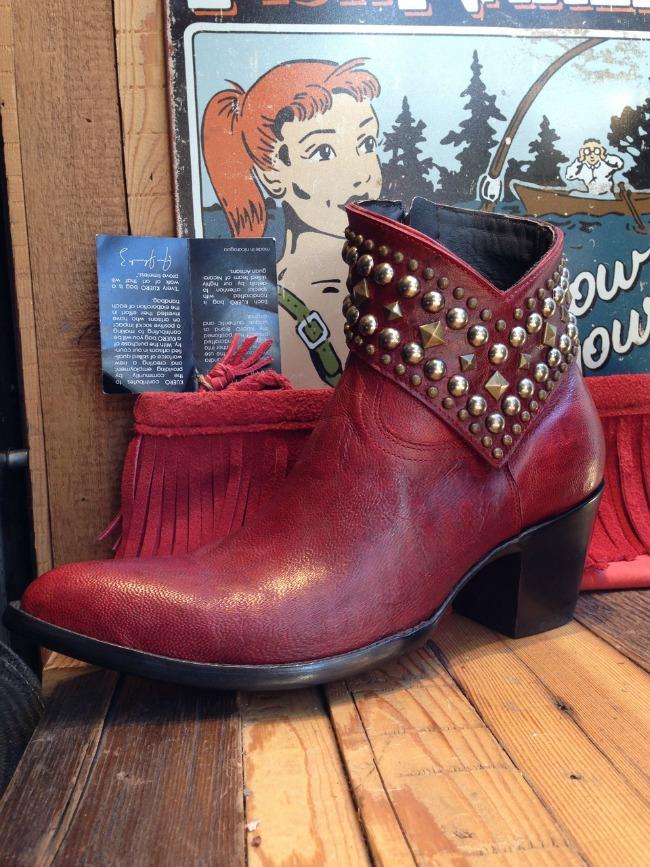 Old Gringo Mini Belinda Boots in Rouge