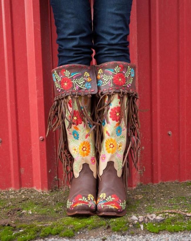 Rodeo Quincy Gloria Cowboy Boots