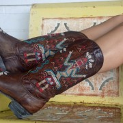 Old Gringo Cowgirl Boots Sapache Brass