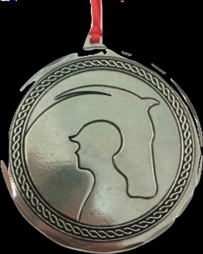 Braided Logo Ornament