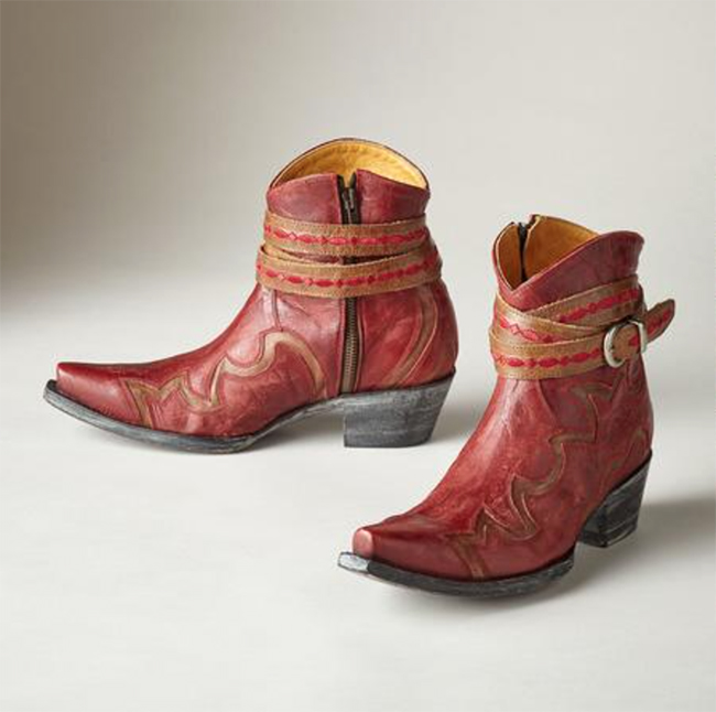 Red Old Gringo Lorenza Boots