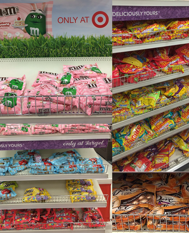 Find Easter candy at Target