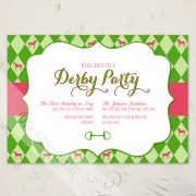 Kentucky Derby Invitations from The Painting Pony