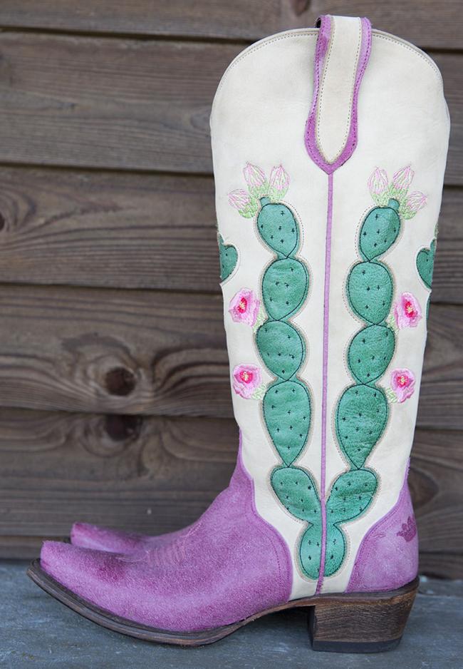 Junk Gypsy Cactus Boots