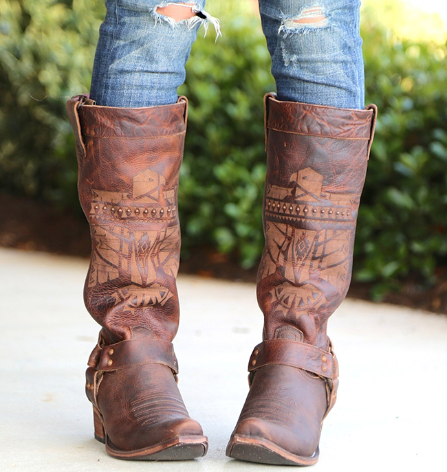 Junk Gypsy by Lane She Who Is Brave Boots