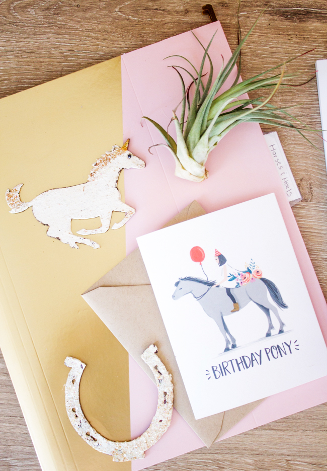 Paper Pony Co. card