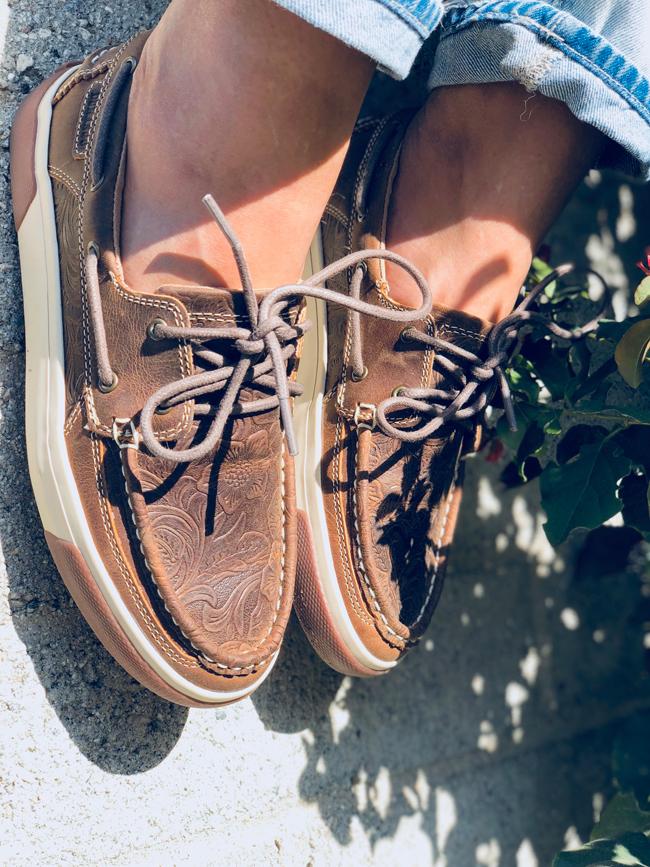 Durango Music City boat shoes